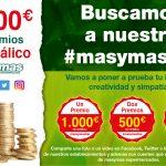 Ganadores del concurso #masymasfan