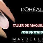 Talleres de maquillaje L'Oreal y Maybelline en masymas supermercados