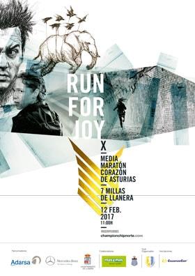 """X Media Maratón """"Corazón de Asturias"""" y III 7 Millas de Llanera"""