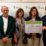masymas supermercados hace entrega de la recaudación de las Ciclocarreras Solidarias
