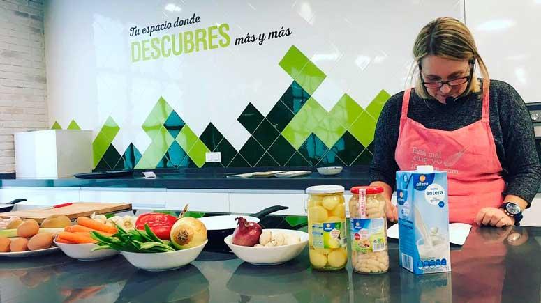 Sabrosas recetas con frutas y verduras en el Espacio 360º con Catalina Tartiere