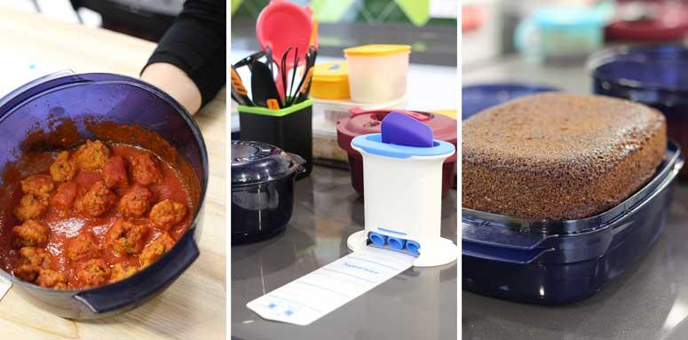 Batch cooking con Tupperware