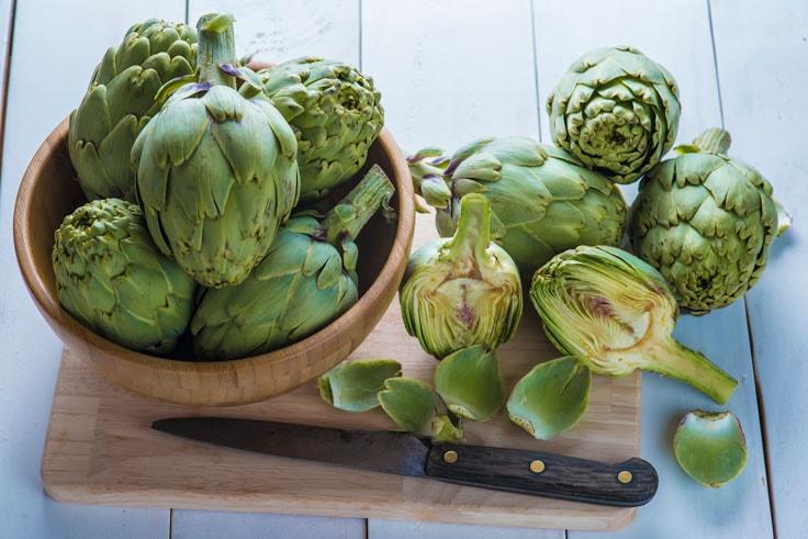 Propiedades de la alcachofa y cómo prepararla