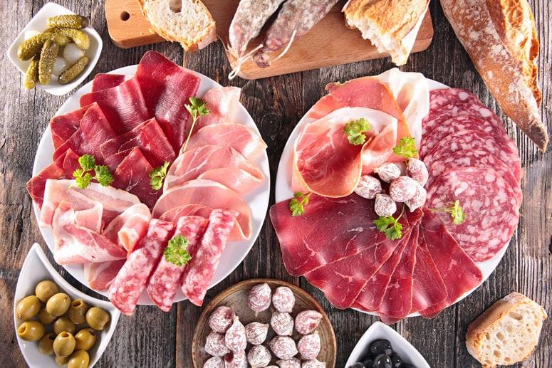 La charcutería gourmet en la alimentación saludable