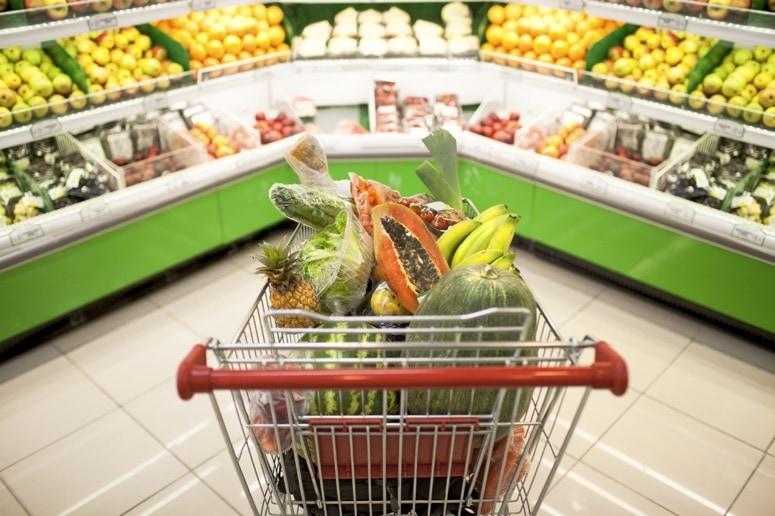 El carrito de la compra saludable
