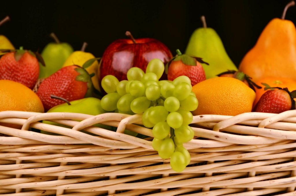 amplio surtido de frutas