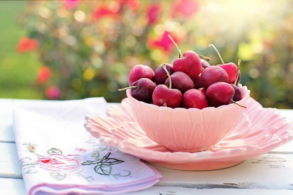 cerezas fruta de verano