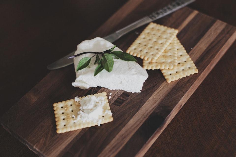 galletas con queso fresco