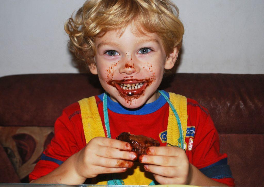 chocolate niño