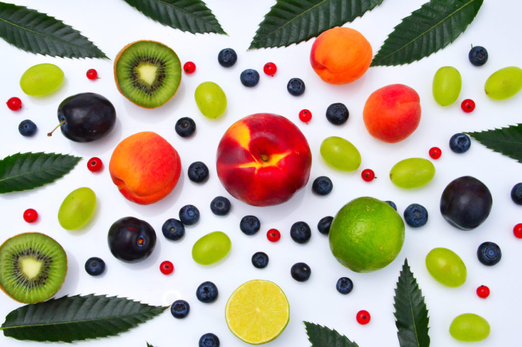 frutas arbol de navidad