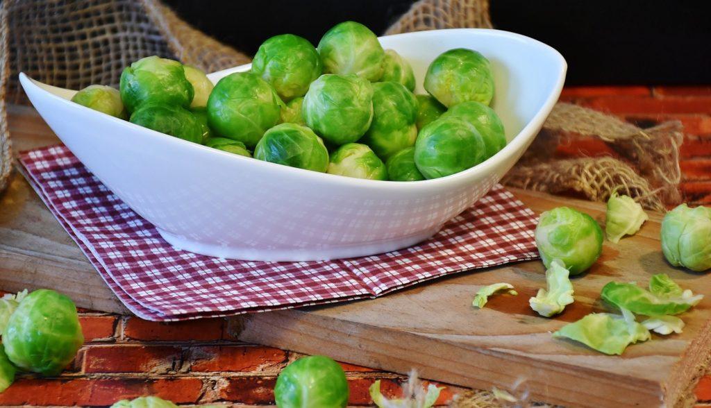 coles de bruselas verdura de temporada