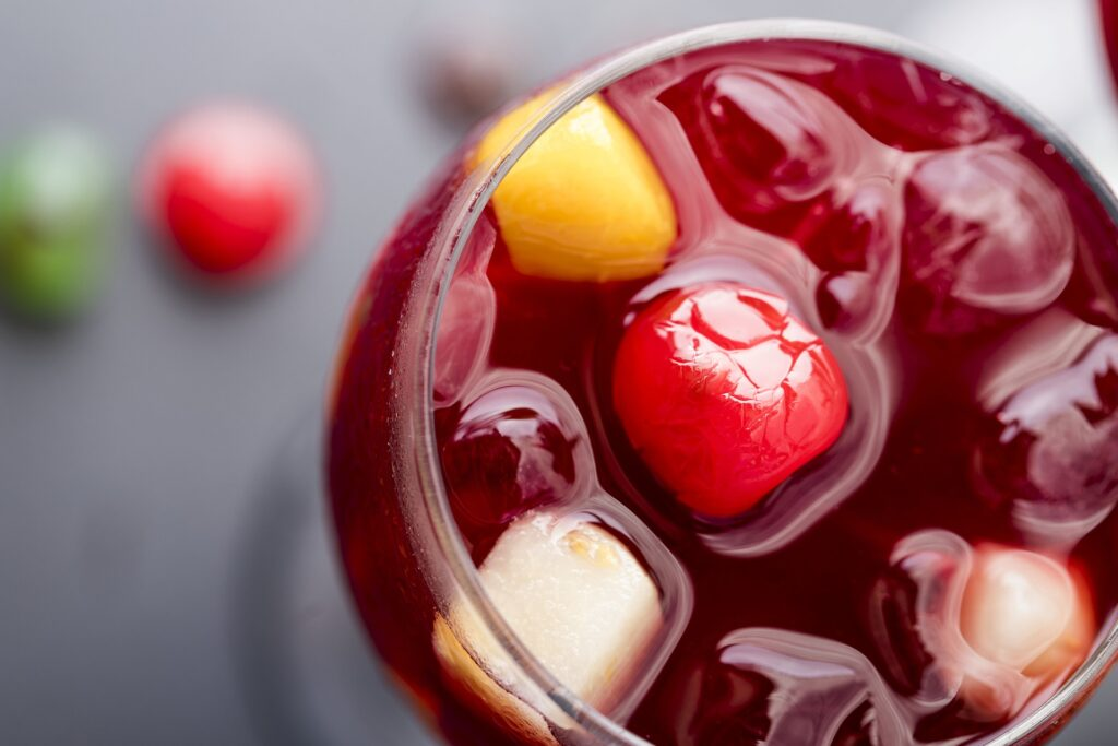 bebidas sangria