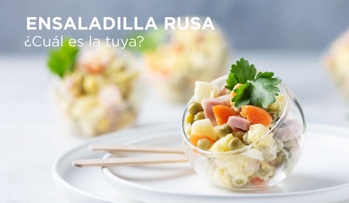 Ensaladilla rusa: ¿Comida de pueblo o comida de zares?