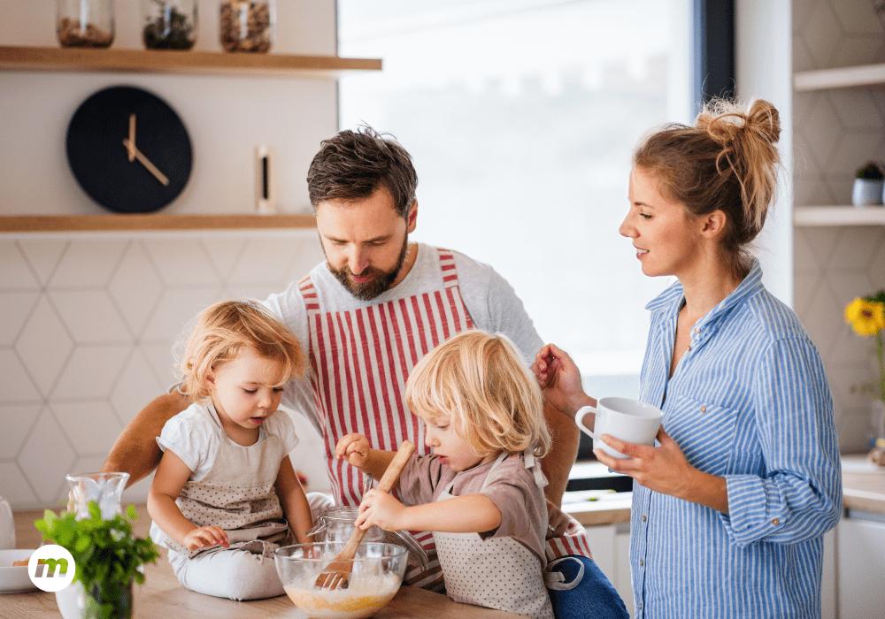 5 recetas sencillas que puedes hacer con tus hijos