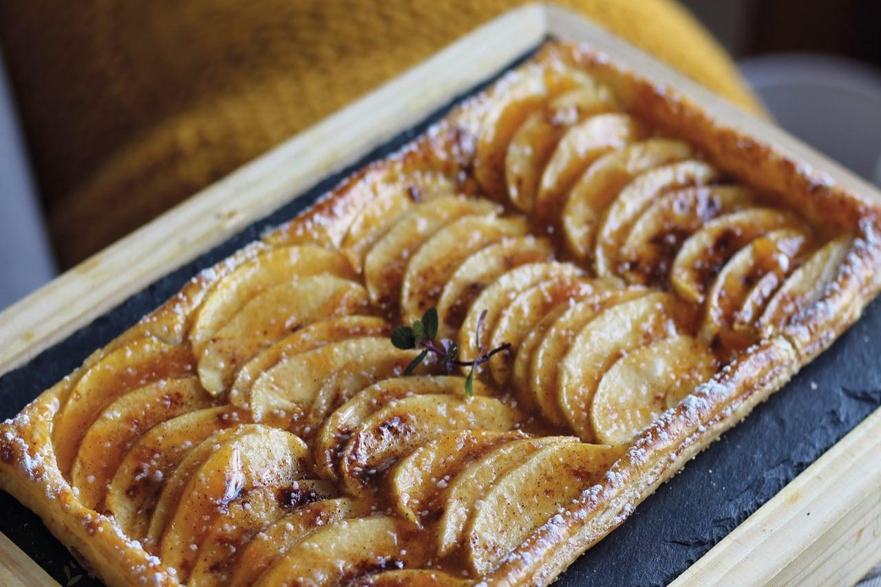 Tarta de manzana con Joya