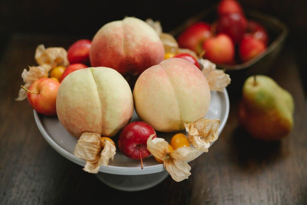frutas en verano nectarina