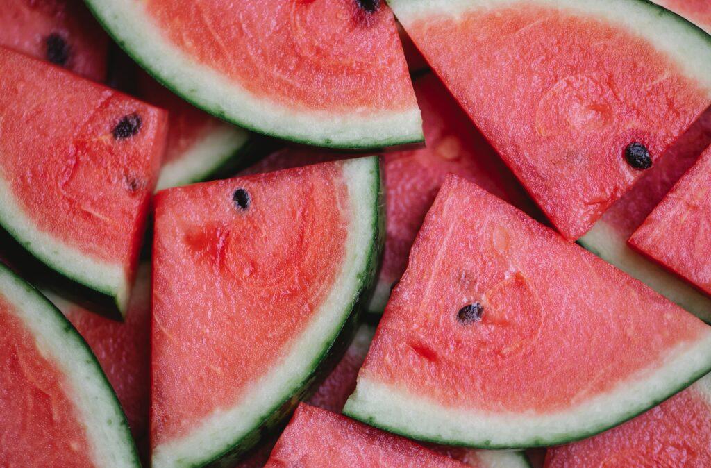 frutas en verano sandia