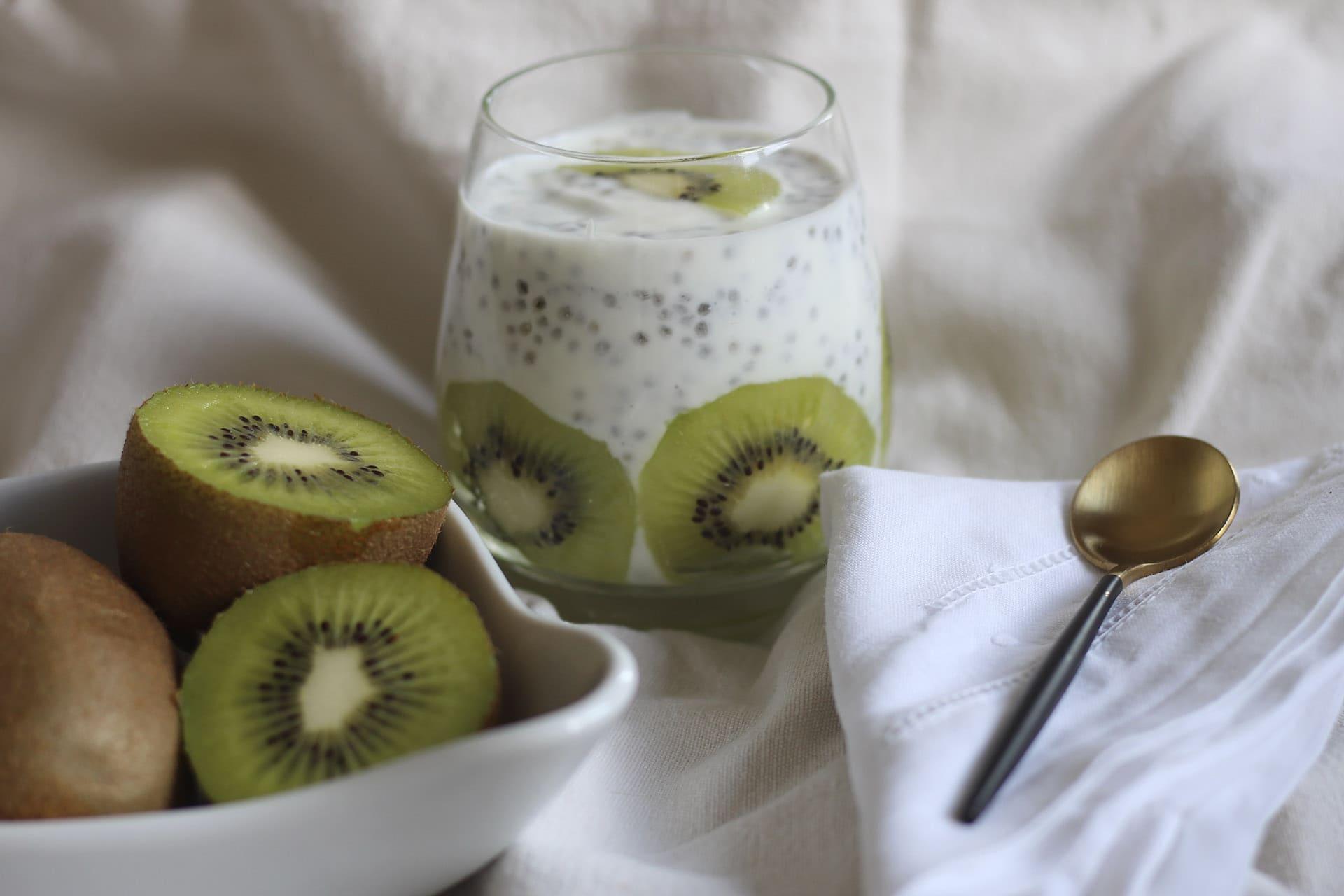 Vasito de kiwi (bomba de proteínas y vitamina)