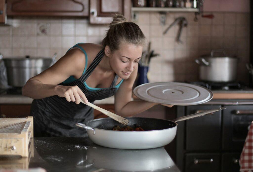 sabores profundos fondo al cocinar